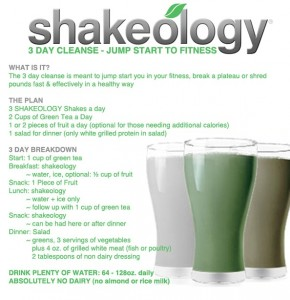 Shakeology Cleanse With Tony Banawa