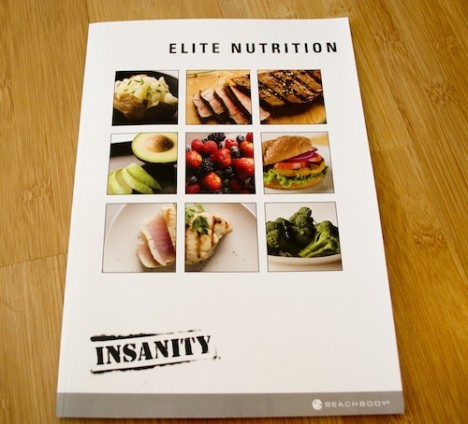 Lose Your Insanity Elite Nutrition Plan?