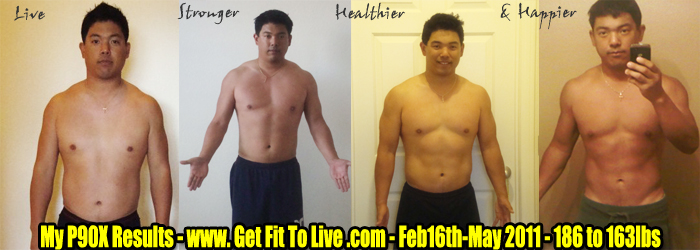 P90x Lean Results Pictures my P90x Results Choose Lean